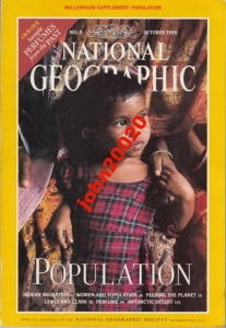 NATIONAL GEOGRAPHIC OCTOBER 1998.POPULATION