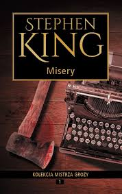 MISERY STEPHEN KING  NOWA  TWARDA