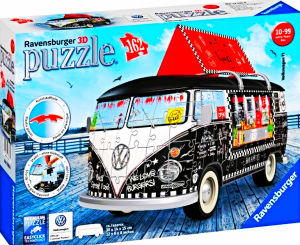 PUZZLE VW BUS FOOD TRUCK 162 ELEMENTY
