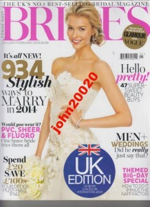 1/2014 BRIDES MAGAZINE.934 STYLISH