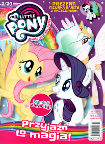2/2020 MY LITTLE PONY + FIGURKA RARITY Z AKCESORIAMI