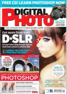 DIGITAL PHOTO ISSUE 159 SEPT 2012.+CD PHOTOSHOP