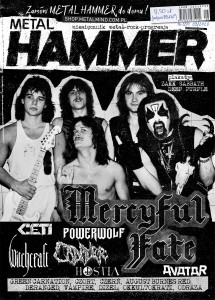8/2020 METAL HAMMER MERCYFUL FATE POWERWOLF