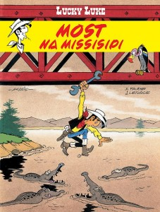LUCKY LUKE TOM 63 MOST NA MISSISIPI MORRIS