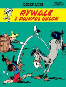 LUCKY LUKE TOM 19 RYWALE Z PAINFUL GULCH GOSCINNY