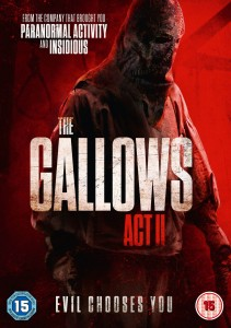 GALLOWS ACT II DVD HURLEY BROWN