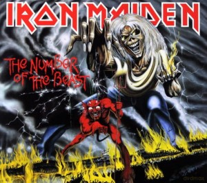 IRON MAIDEN THE NUMBER OF THE BEAST CD