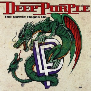 DEEP PURPLE THE BATTLE RAGES ON CD BATTLE RAGES ON