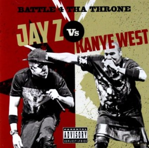 JAYZ KANYE WEST BATTLE 4 THA THRONE CD