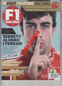 10/2014 F1 RACING.ALONSO FERRARI