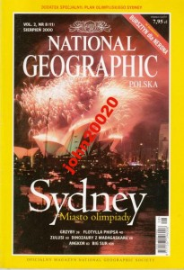 NATIONAL GEOGRAPHIC 8/2000 SYDNEY ZULUSI GRZYBY