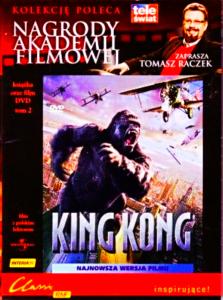KING KONG DVD WATTS BRODY JACKSON FOLIA