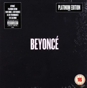 BEYONCE BEYONCE PLATINUM EDITION CD ROCKET