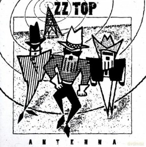 ZZ  TOP ANTENNA CD COVER YOUR GIRL