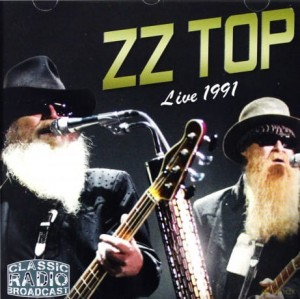 ZZ TOP LIVE 1991 CD PLANET OF WOMEN