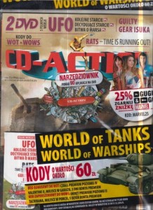 11/2016 CD ACTION.2 X DVD.WORLD OF TANKS KODY 60 Z