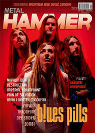 9/2020 METAL HAMMER NAPALM DEATH BLUES PILS ZOMBI