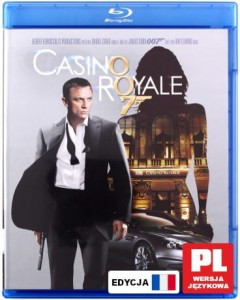 007 CASINO ROYALE BLU RAY BOND CRAIG