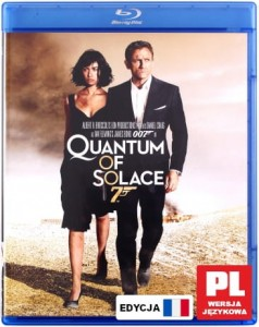 007 QUANTUM OF SOLACE BLU RAY BOND