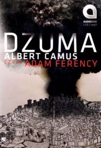 DŻUMA ALBERT CAMUS AUDIOBOOK CD-MP3