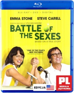BATTLE OF THE SEXES BLU RAY STONE CARELL