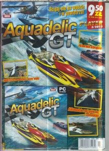 AQUADELIC GT  PC CD ROM FOLIA