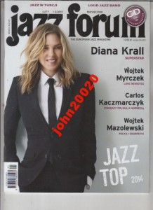 1-2/2015 JAZZ FORUM.DIANA KRALL