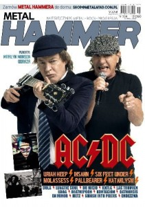 12/2020 METAL HAMMER AC DC URIAH HEEP SIX FEET UNDER