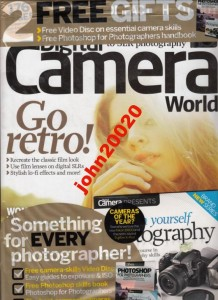 DIGITAL CAMERA WORLD 5/2012.+CD  ESSENTIAL CAMERA