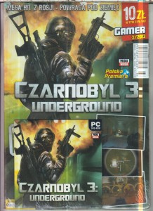 CZARNOBYL 3 PC DVD ROM FOLIA