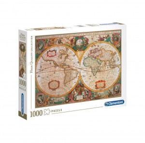 PUZZLE 1000 EL HQ OLD MAP STARA MAPA