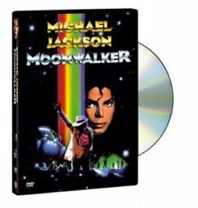 MOONWALKER MICHAEL JACKSON  DVD  FOLIA