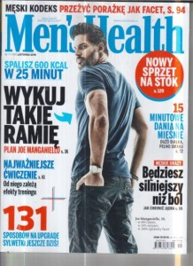 11/2016 MEN`S HEALTH.JOE MANGANIELLO