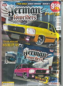 GERMAN LOWRIDERS  PC CD ROM FOLIA