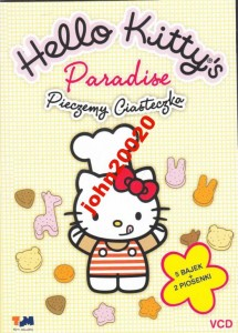 HELLO KITTY'S PARADISE.PIECZEMY CIASTEZKA