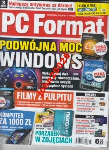 3/2015 PC FORMAT.PODWÓJNA MOC WINDOWS.