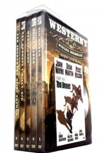 WYATT EARP DZIKA BANDA PAT GARRETT I BILLY KID BOX 5 DVD