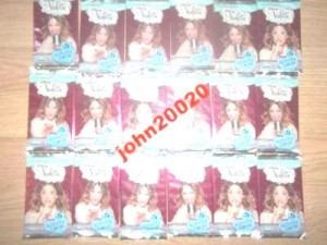 VIOLETTA.DISNEY.ACTIVITY CARDS.1 SASZETKA 5 KART