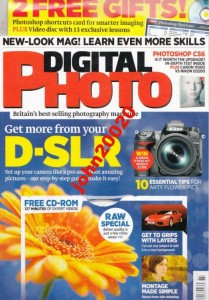 DIGITAL PHOTO ISSUE 157 JULY 2012.+CD PHOTOSHOP