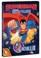 SUPERMAN SUPER -VILLAINS METALLO  DVD FOLIA