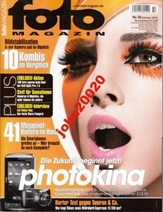 FOTO MAGAZIN 10/2012.PHOTOKINA