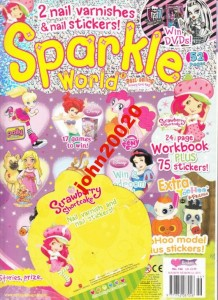 146/2012 SPARKLE.WORKBOOK + STICKERS