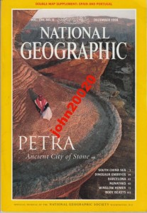 NATIONAL GEOGRAPHIC DECEMBER 1998.PETRE,BARCELONA
