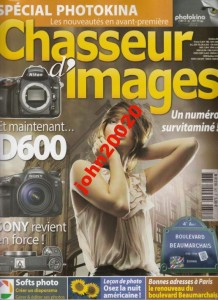 CHASSEUTR D'IMAGES 10/2012.SPECIAL PHOTOKINA