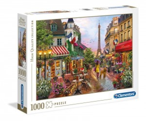 PUZZLE 1000 EL HIGH QUALITY COLLECTION KWIATY W PARYŻU