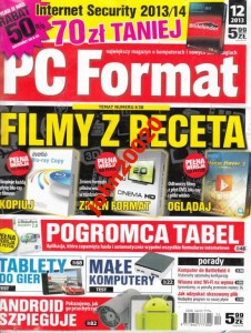 12/2013 PC FORMAT.FILMY Z PECETA + CD