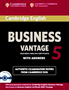 CAMBRIDGE ENGLISH BUSINESS 5 VANTAGE  ANSWERS CD