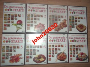 DO GOTOWANIA START 8 X VCD