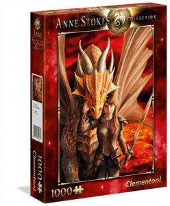 PUZZLE 1000 EL ANNE STOKES COLLECTION INNER STRENGTH
