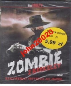 ZOMBIE Z BERKELEY.DVD.FOLIA